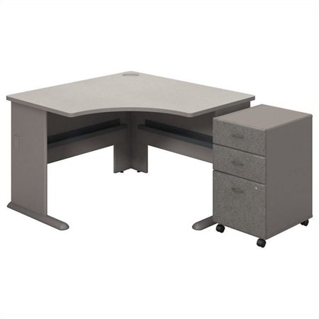 "Scranton & Co 48"" Corner Desk and File Cabinet - image 1 de 1"