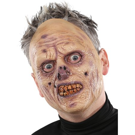 Flesh Eating Zombie Latex Mask Adult Accessory](Latex Zombie Mask)