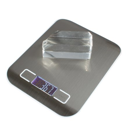 Digital Kitchen Scale Food Scale with LCD Display, Weight Scale 11 lb 5 kg ,0.01oz/1g Stainless Steel Baking Cooking