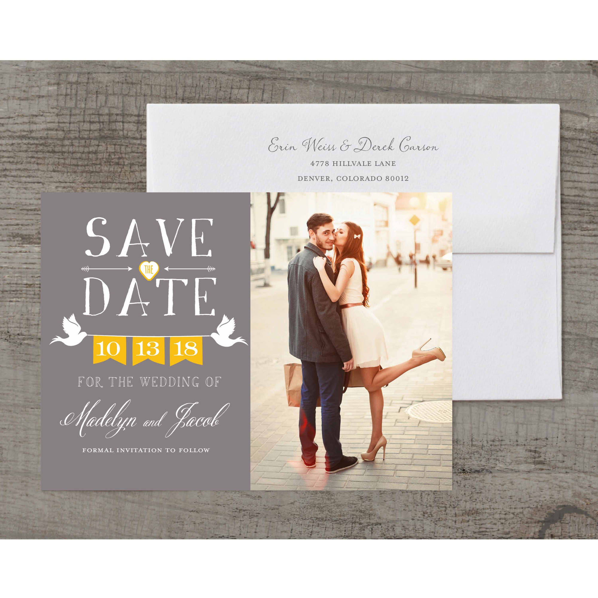 Doves Deluxe Save the Date