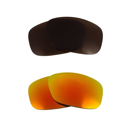 9267a53d10 FLAK 2.0 XL Replacement Lenses Bronze Brown   Yellow by SEEK fits OAKLEY
