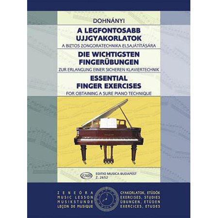 Essential Finger Exercises : Piano