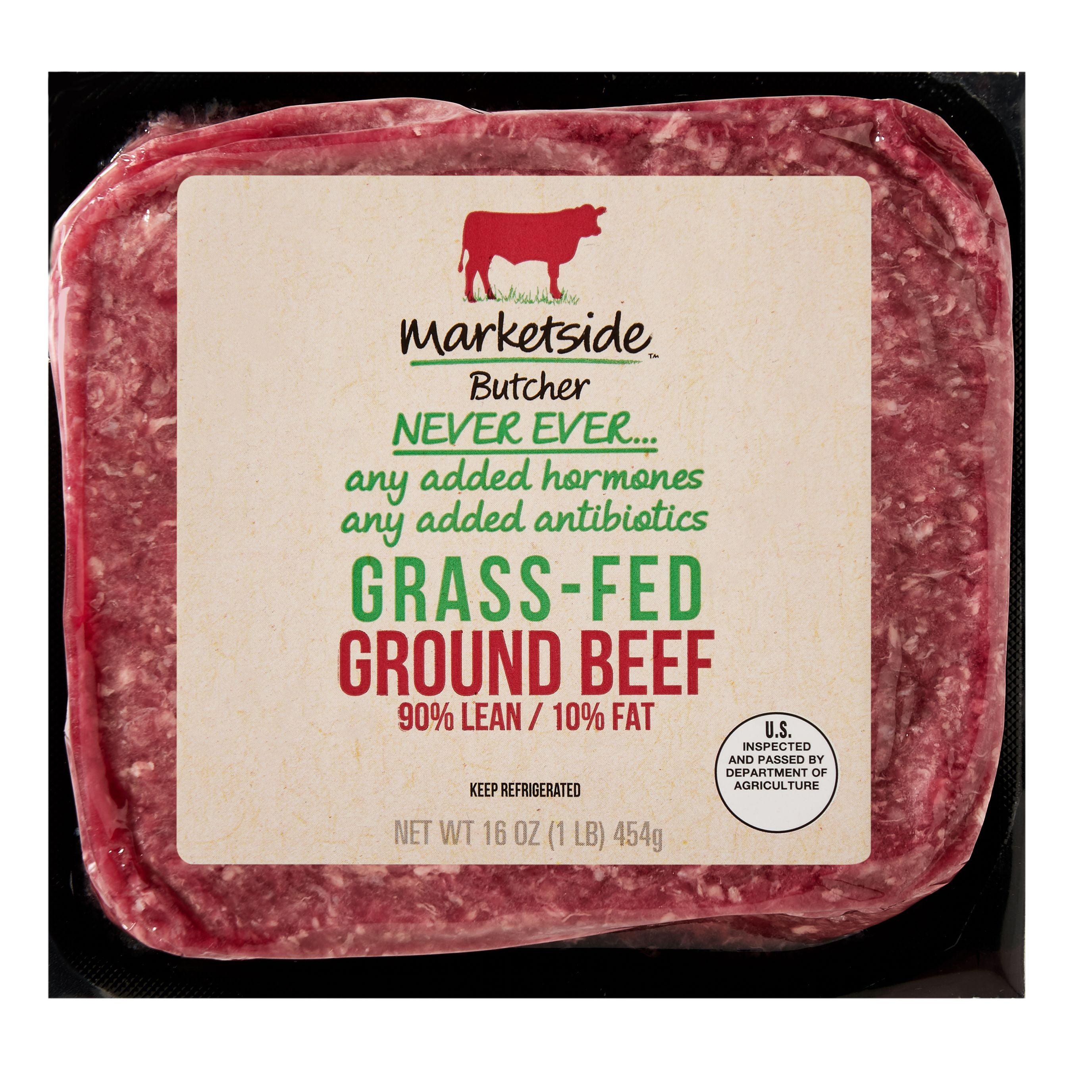 Marketside Butcher Grass-Fed Ground Beef, 16 oz (1 lb)