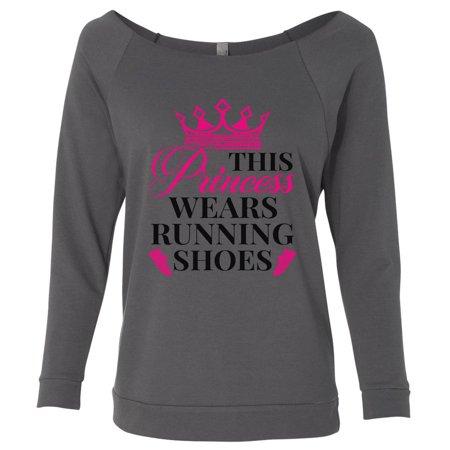 "Women's Cute Gym ""This Princess Wear Running Shoes"