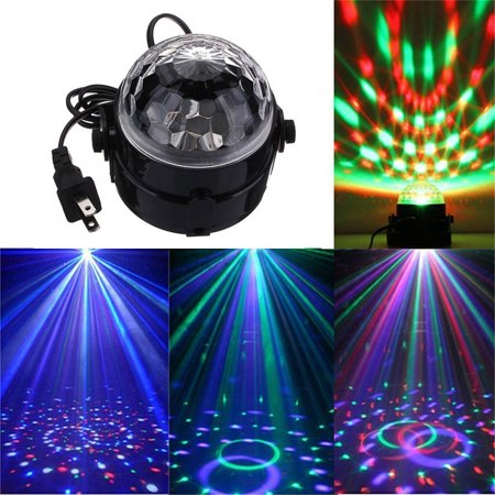 Lighting LED Crystal Magic Ball Projector Stage Show Light Club Disco KTV