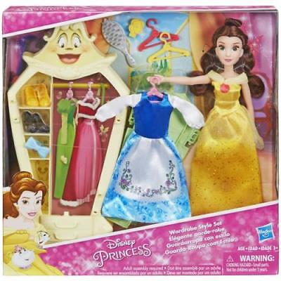 Hasbro Disney Princess Belle Doll with Wardrobe and Fashion