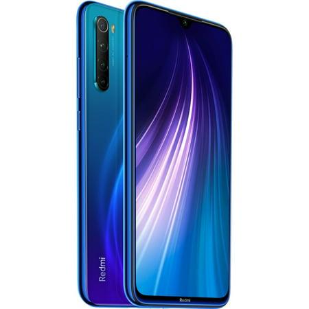 Xiaomi Redmi Note 8 64GB Dual-SIM GSM Unlocked Phone - Neptune Blue