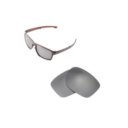 d426f4413a Walleva - Walleva Titanium Polarized Replacement Lenses for Oakley Sliver F  Sunglasses - Walmart.com