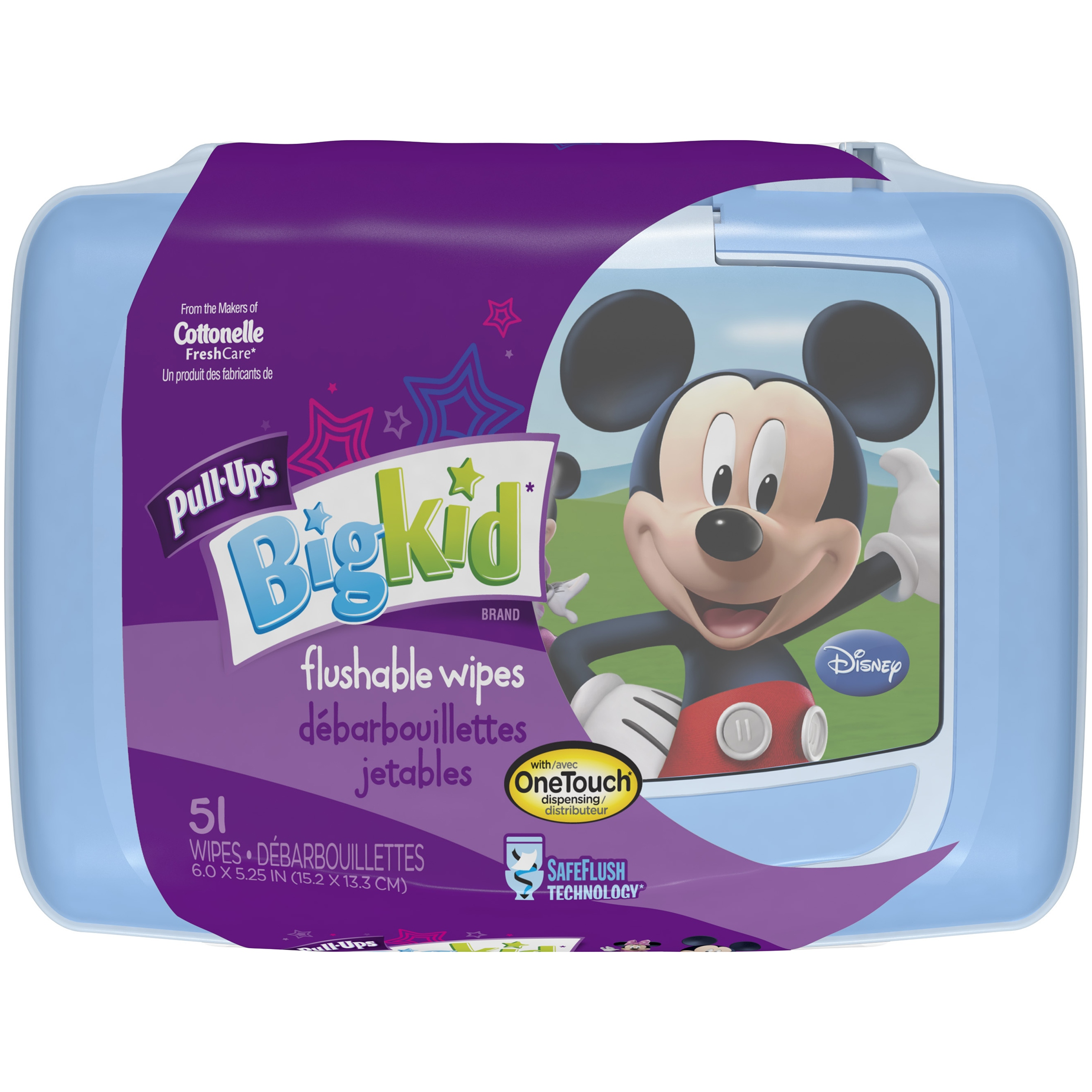 Huggies Pull-Ups Big Kid Flushable Wipes (51 count)