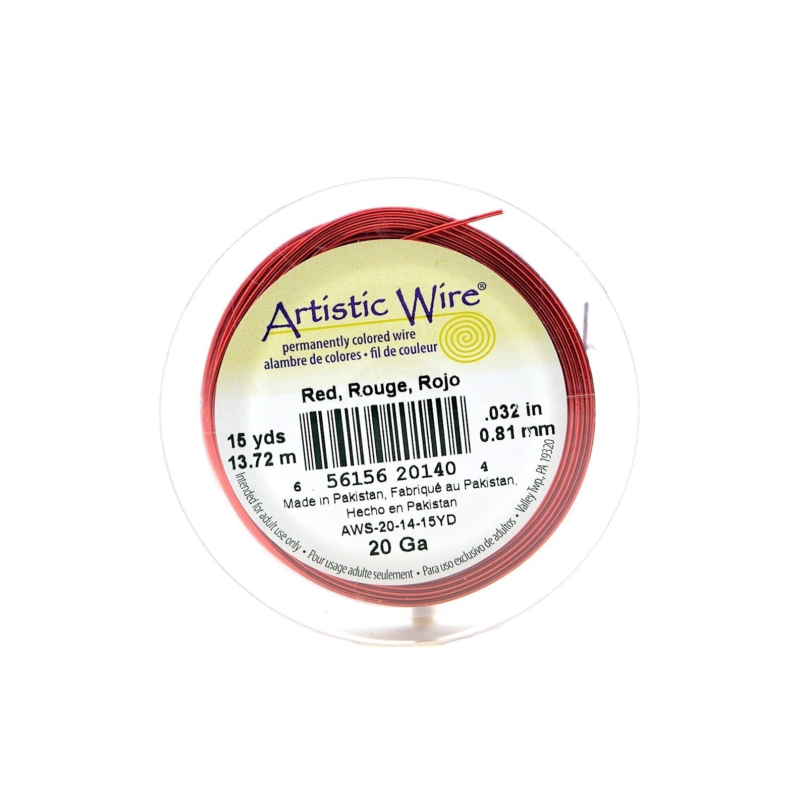Artistic Wire  Spools (Pack of 4)