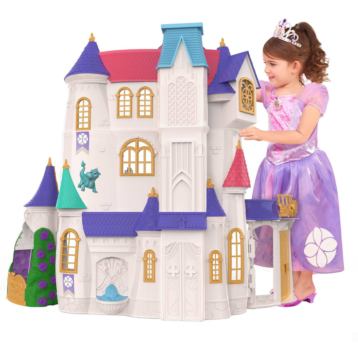 Disney Sofia the First Enchancian Castle- Over 3 FT TALL