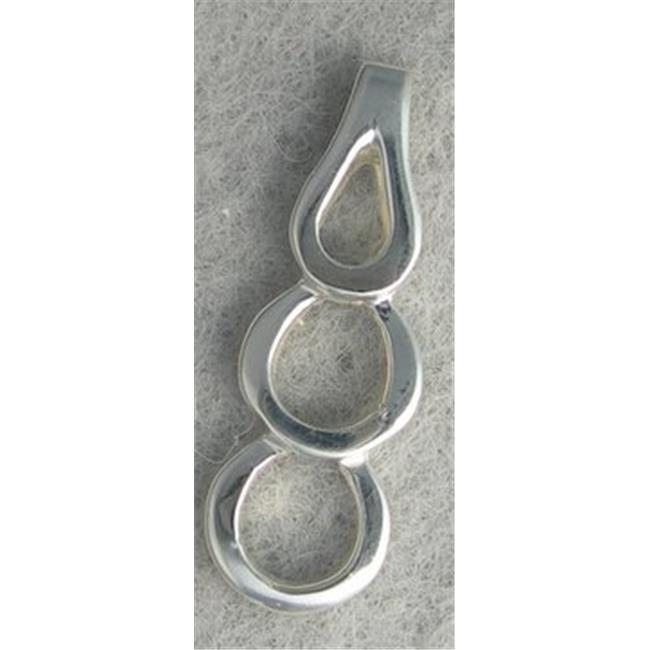 Marinas Fine Jewelry New Triple Circle Silver Pendant