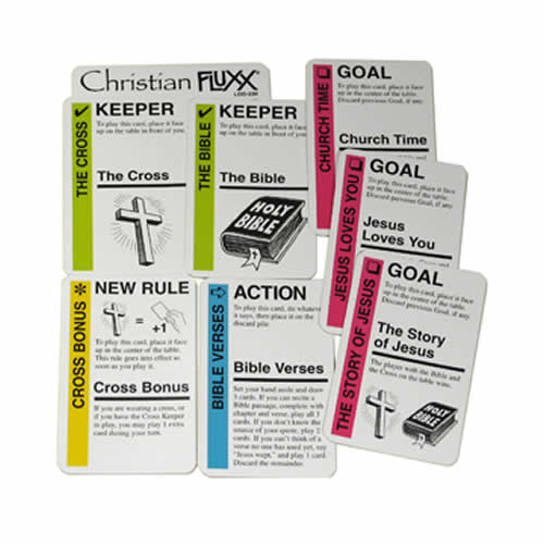 Christian Fluxx Expansion Card Pack Multi-Colored