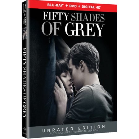 Fifty Shades of Grey (Unrated Edition) (Blu-ray + DVD + Digital