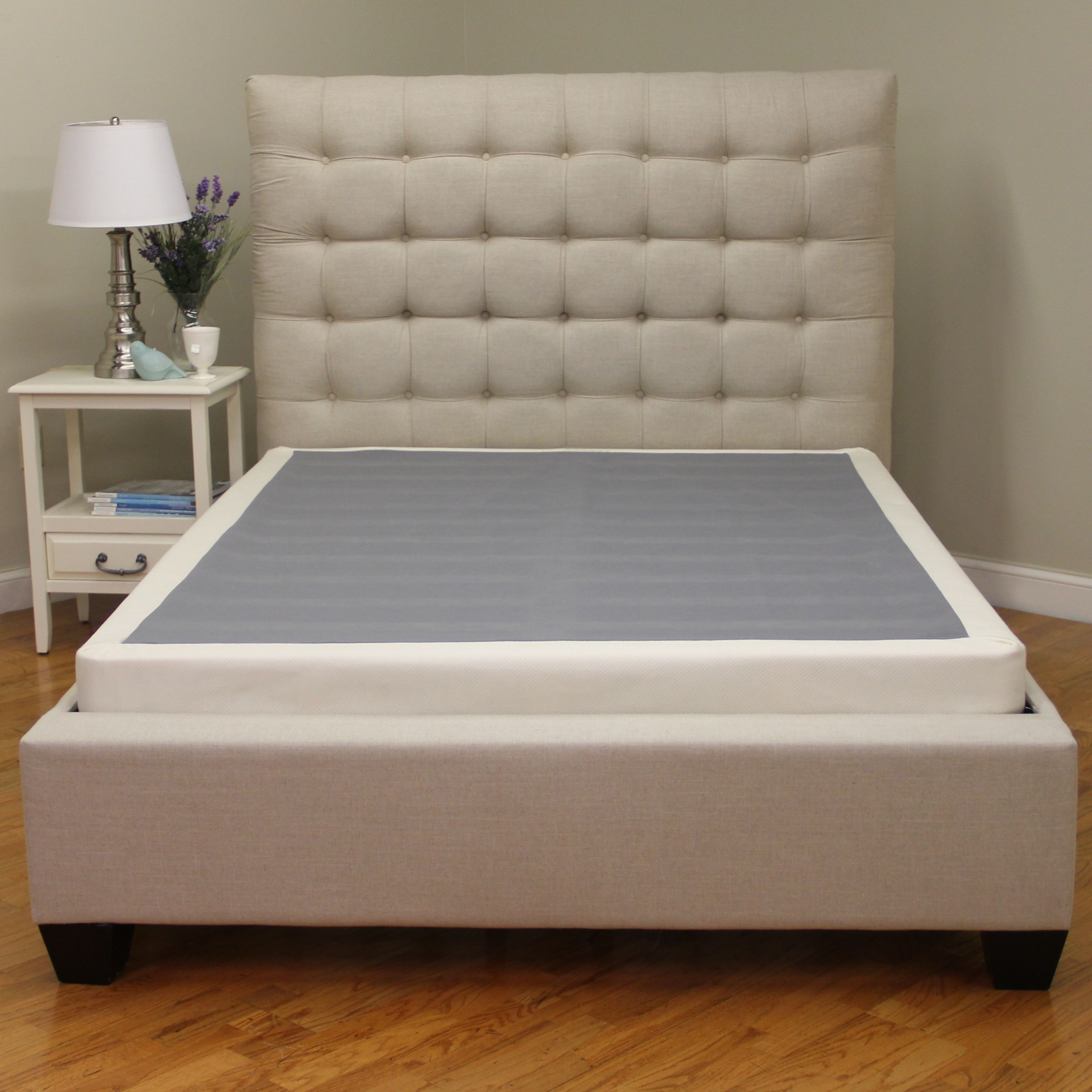 modern sleep instant foundation low profile 4inch boxspring replacement multiple sizes