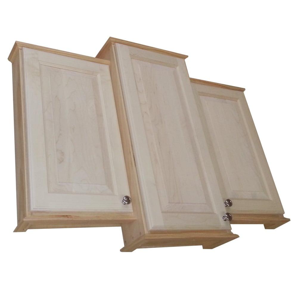 WG Wood Products 30 x 36 x 30-inch Ashley Triple Series O...
