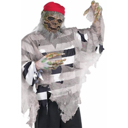 Adult Easy Pirate Deckhand Costume - Cheap Easy Adult Costumes