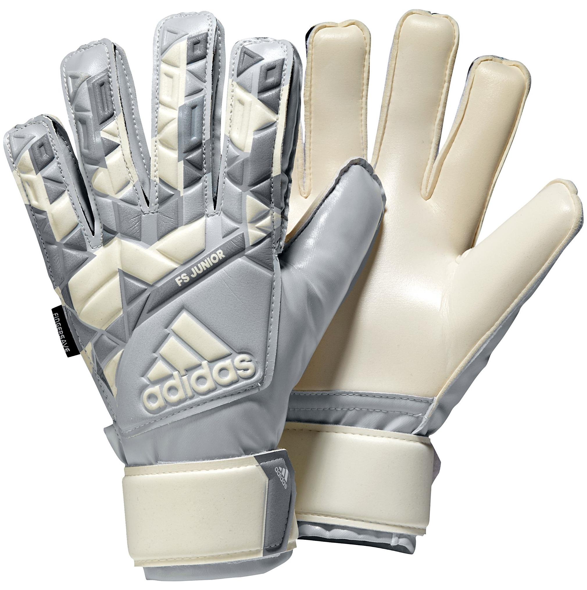 adidas Youth Ace Fingersave Junior Soccer Goalie Gloves