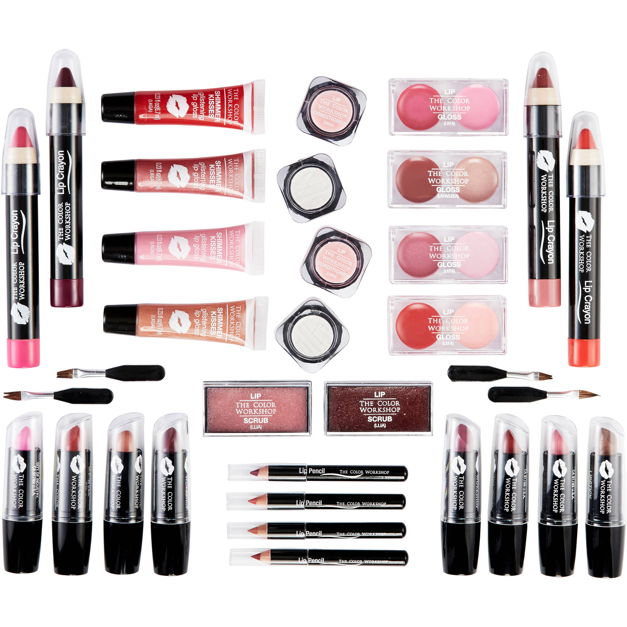 Game nail color workshop - The Color Workshop Lip L Amour Lip Collection Variety Pack 39 Pc Walmart Com