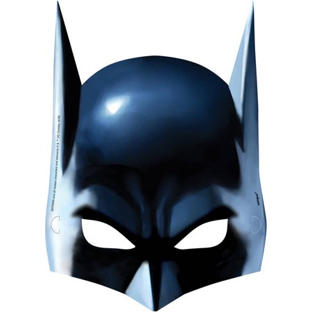 Batman Party Masks, 8ct - Batman Robin Party Supplies