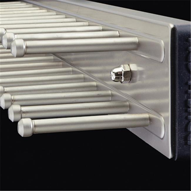 Rev A Shelf Rstrc. 14Sn Slide Out Tie Rack - Satin Nickel