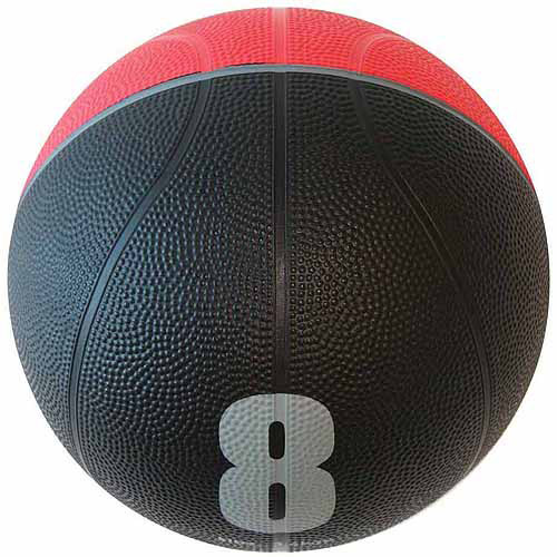 Spin Fitness Commercial-Grade Medicine Ball, 8 lbs