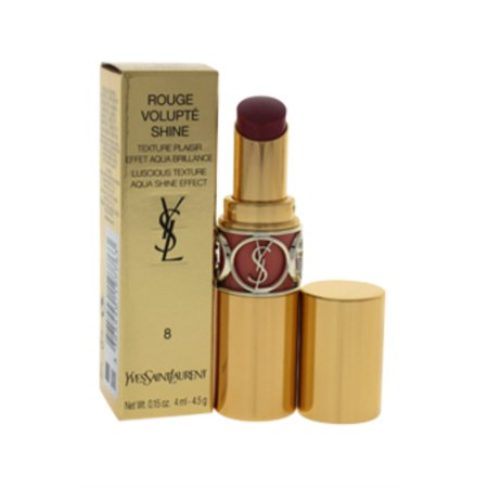 Rouge Volupte Shine Lipstick - # 8 Pink In Confidence by Yves Saint Laurent for Women - 0.15 oz Lipstick - image 1 de 2