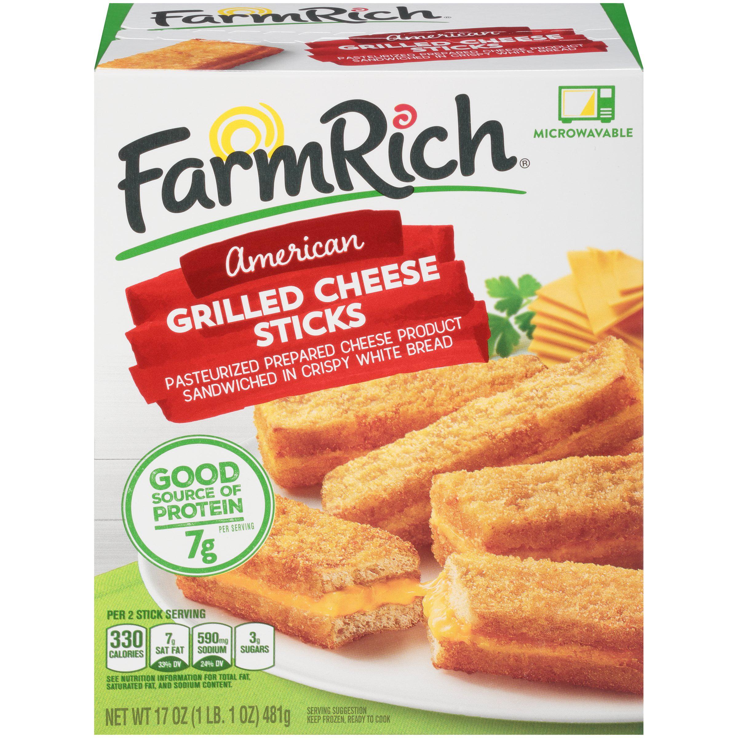 Farm Rich® American Grilled Cheese Sticks 17 oz  Box