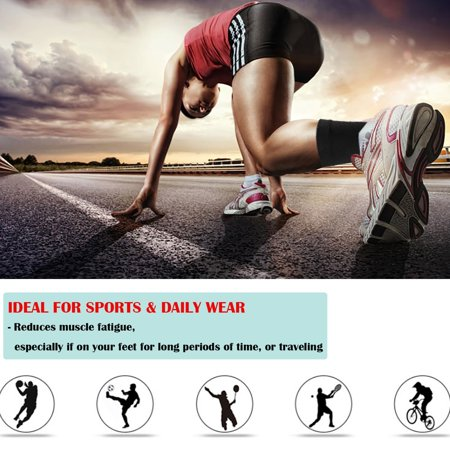 Ankle Support,Zerone Ankle Support Brace Foot Guard Sprains Injury Wrap Bandages Strap Breathable for Plantar Fasciitis Pain Relief,Heel (Pain In Arch Of Foot After Sprained Ankle)