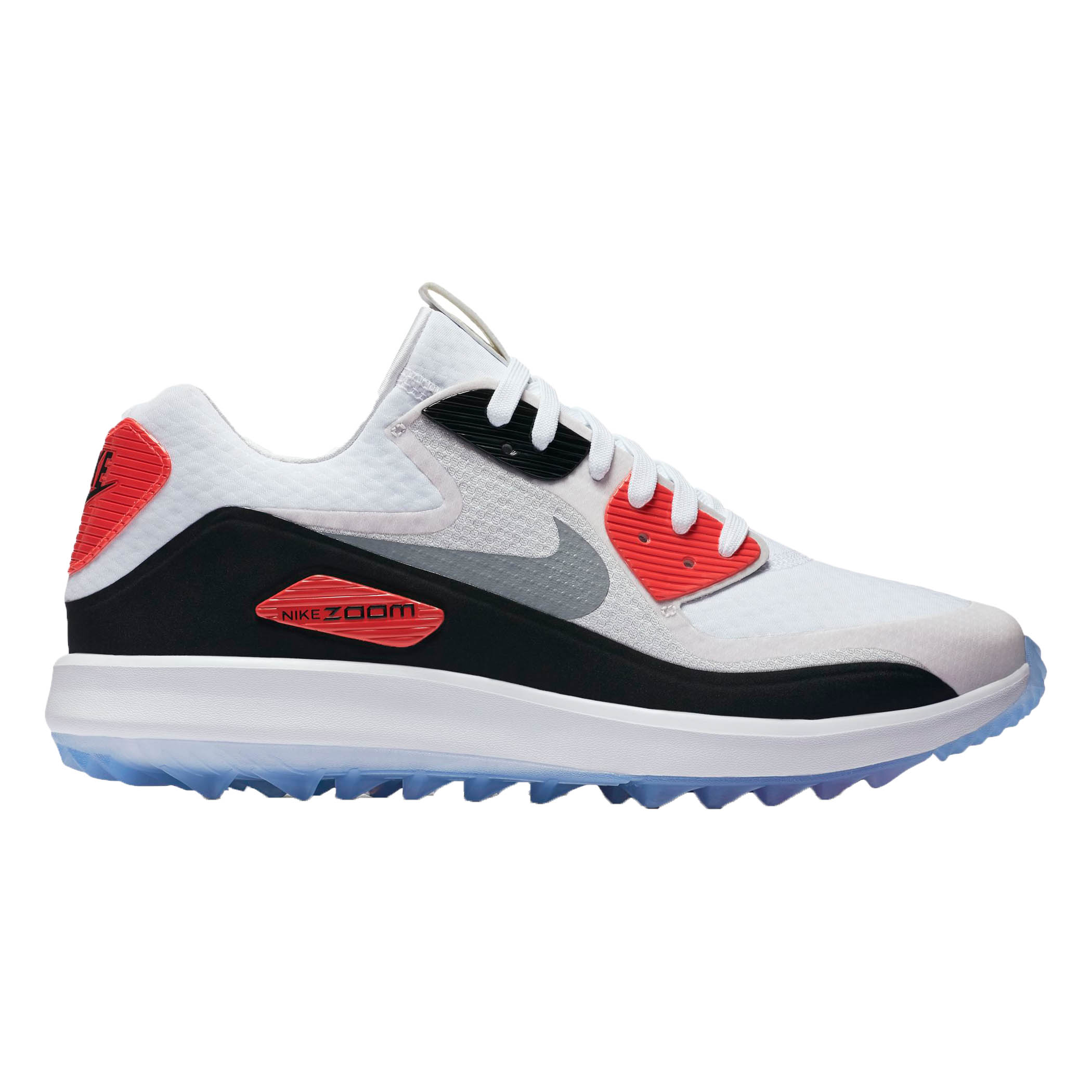 Nike 2017 Air Zoom 90 IT Golf Shoes (White/Grey)