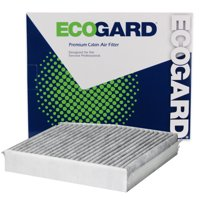 ECOGARD XC10666C Cabin Air Filter with Activated Carbon Odor Eliminator - Premium Replacement Fits Infiniti QX30