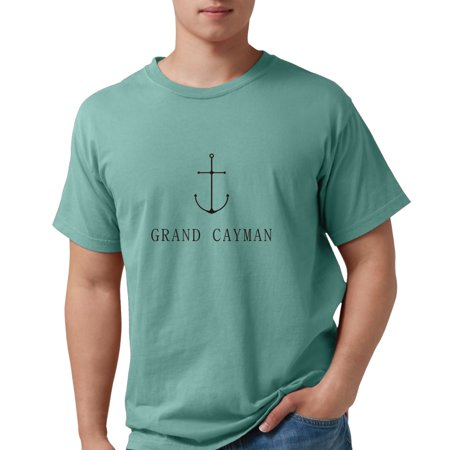 4654cb60a CafePress - CafePress - Grand Cayman Sailing Anchor T-Shirt - Mens Comfort  Colors® Shirt - Walmart.com