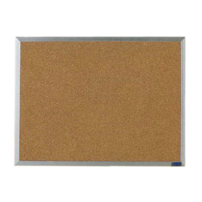 Aarco Economy Series Aluminum Frame Corkboard