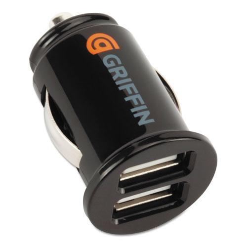 Griffin PowerJolt Dual USB Car Charger (5 volts,1 amp) charger for two devices