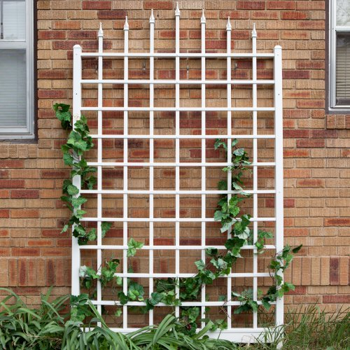 Winchester Trellis in White Finish