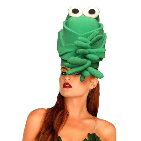 Green Toad Adult Foam Costume Hat - One Size - Toad Costume Hat