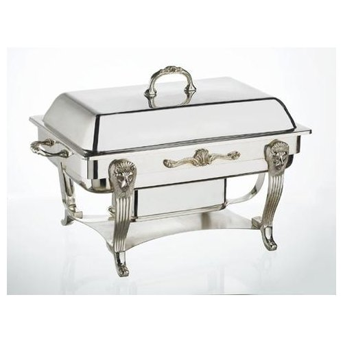 Astoria Grand Silver Plated 8-qt. Rectangular Chafing Dish by