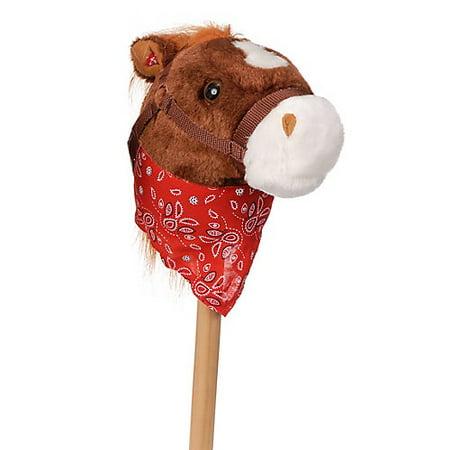 Stick Horses In Bulk (Plush Stick Horse w/Bandana and Sound)