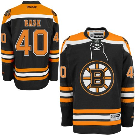 brand new e49ed 4b40b Tuukka Rask Boston Bruins NHL Reebok Black Official Premier Home Jersey For  Men