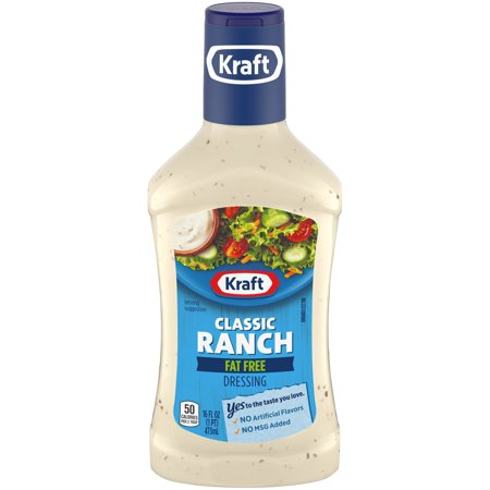 Fat Free Sweet - Kraft Classic Ranch Fat Free Dressing 16 fl. oz. Bottle