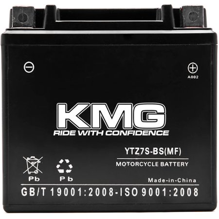 YTZ7S Battery For Honda 50 NPS50 Ruckus 2003-2014 Sealed Maintenance Free 12V Battery High Performance SMF Replacement Powersport Motorcycle ATV Scooter Snowmobile Watercraft - image 3 de 3