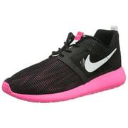 Nike Kid's Roshe One Flight Weight GS, Black/White-Hyper Pink