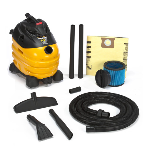 Shop-Vac 5873410 10 Gallon 6.5 Peak HP Right Stuff Wet/Dry Vacuum