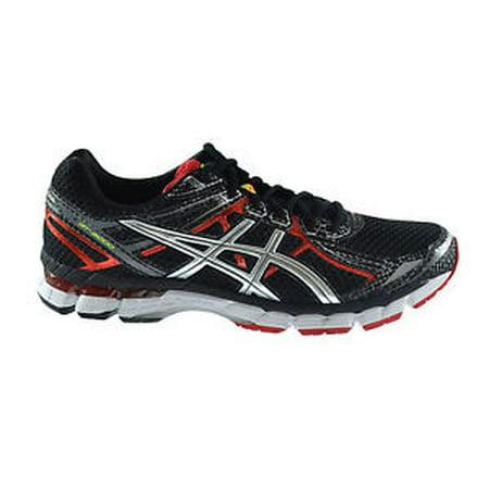 ASICS Men's GT 2000 2 Running Shoe,Black/Lightning/Red Pepper,10.5