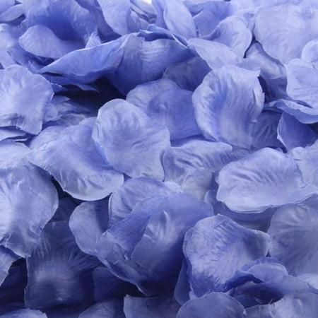 200pcs Burgundy Silk Rose Artificial Petals Wedding Party Flower Favors Decor - Silk Flower Petals
