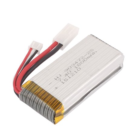 7.4V 1800mAh Rechargeable RC Car Lithium Polymer Li-po Battery Cell XH-3P EL-2P