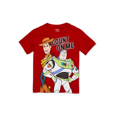 Cheap Disney Shirts For Kids (Disney Toy Story Boys 4-18 Toy Story Team Big Short Sleeve Graphic)