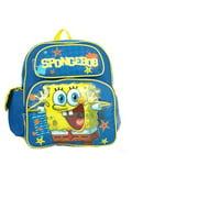 Small Backpack - Spongebob - Squarepants Blue Boys New School Bag 618728