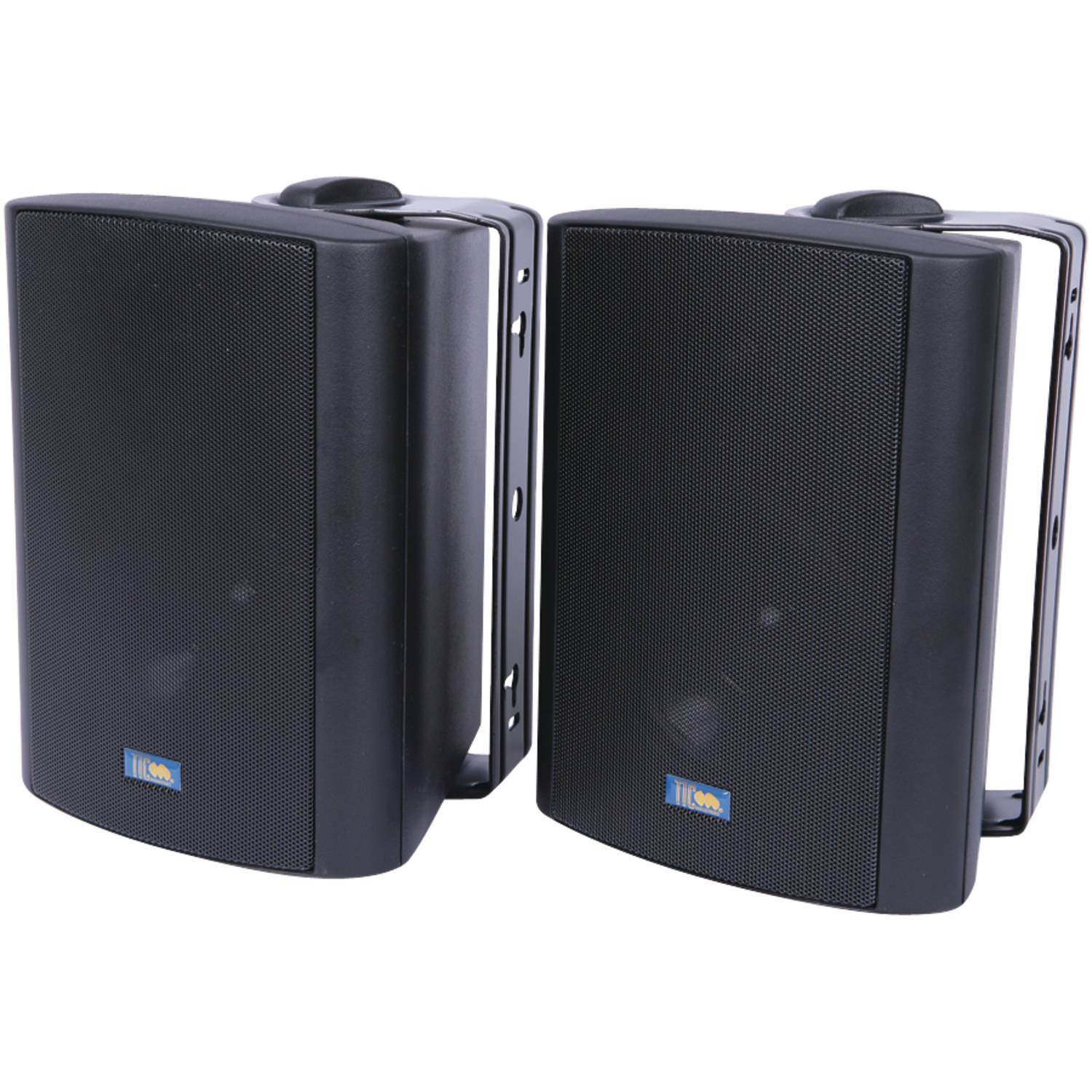 Tic Corporation As P60b Indoor/Outdoor 75-Watt Speakers with 70-Volt Switching