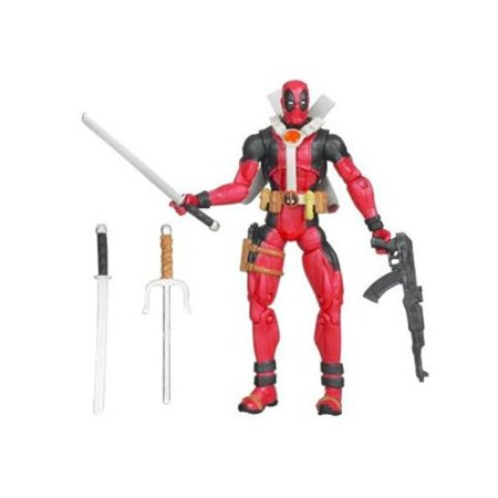 X-Men Origins Wolverine Comic Series 3 3/4 Inch Action Figure Deadpool by X-Men Wolverine, Comes with weapon accessories By XMen Wolverine From (Wolverine And The X Men Greetings From Genosha)